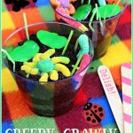 Creepy Crawly Dirt Cups for Earth Day