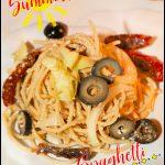 Summertime Italian Spaghetti Salad