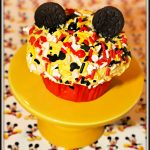Mickey Mouse Sprinkles Cupcakes