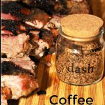 Coffee Rib Rub Seasoning