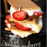 Grilled Strawberry S'mores