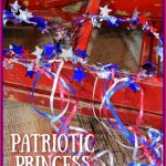 DIY Patriotic Princess Crowns