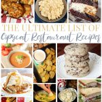 The Ultimate List of Copycat Restaurant Recipes