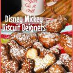 Disney Mickey Biscuit Beignets
