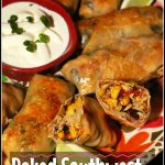 Baked Southwest Chicken Egg Rolls | Chili's Copycat