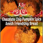 Chocolate Chip Pumpkin Spice Amish Friendship Bread | Printable Recipe Cards