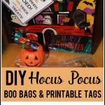 DIY Hocus Pocus Boo Bags and Printable Tags