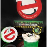 Ghostbusters Jello Slime Parfaits