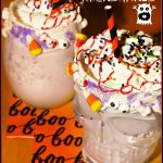 Screamsicle Monster Milkshakes #HalloweenTreatsWeek