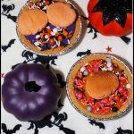 Halloween Mini S'mores Pudding Pies #HalloweenTreatsWeek
