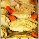 Roasted Sheet Pan Cabbage and Carrots