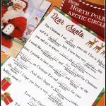 Printable Mad Libs Santa Letter For Kids