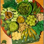St Patrick's Day Green Charcuterie Snack Tray