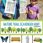 Springtime Nature Trail Scavenger Hunt | Exploring State Parks with Kids