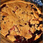 Summertime Blue Apple Crumble Pie #SummerDessertWeek