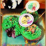 Hocus Pocus Magically Filled Cupcakes